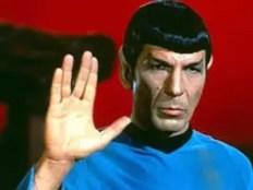 Vulcan Greeting Salute