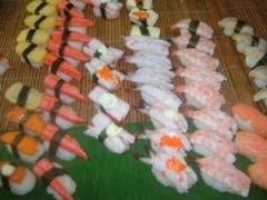 日本が恋しくなるお寿司