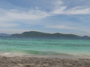 コーラル島の写真です。(きれいですね)