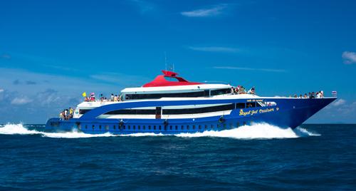 Andaman Wave Master ( Royal Jet Cruise ) プーケット→ピピ島へのフェリー