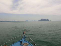 甲板からの眺め / シーカヌー1日ツアー(デラックス)の紹介(その1)