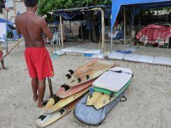 レンタルサーフボード ( パトンビーチ )