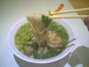 排骨拉麺 /蘭州拉麺 / パトンビーチの中国式手打ちらーめん屋