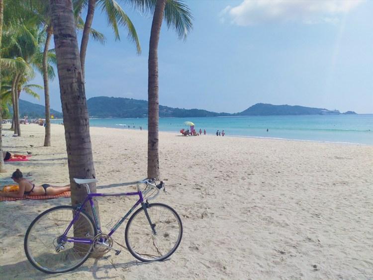 2019年04月17日のプーケット島・パトンビーチ・15:00頃の風景。