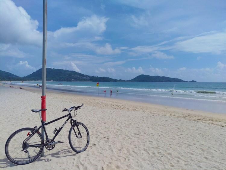 2019年05月15日のプーケット島・パトンビーチ・15:30頃の風景。