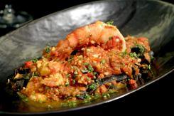 PIZZA & PASTA – FETTUCCINE-AL-NERO-DI-SEPPIA / ラ・グリッタ・イタリアンレストラン ( La Gritta - Italian Restaurant ) / パトンビーチのレストラン