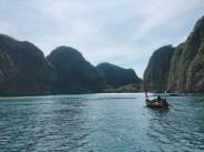 3.ピピ島の観光(マヤベイ、モンキービーチ) / カタマランで行く ピピ島+ココビーチ+マイトン島ツアーの紹介(その1)