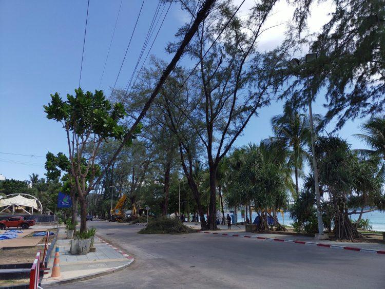 2020年06月01日・プーケット島のパトンビーチ・14:15頃の風景