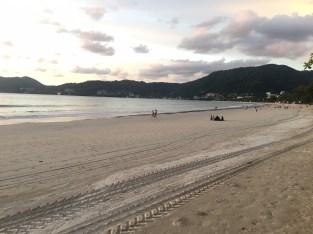 プーケット島・パトンビーチ・最近のサンセット風景