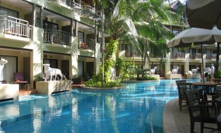 Merlin Beach Resort Phuket Beachfront Resort At Tri Trang Beach Phuket
