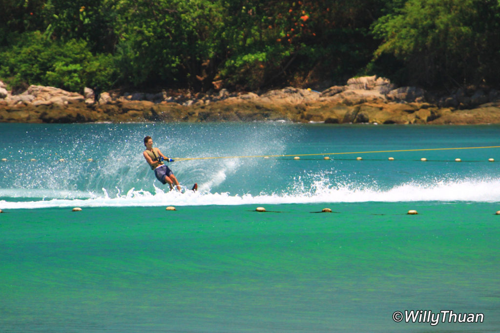 Waterski In Phuket at Pansea Beach