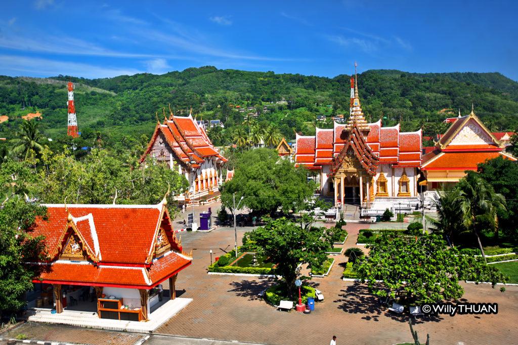 Wat Chalong Bird View