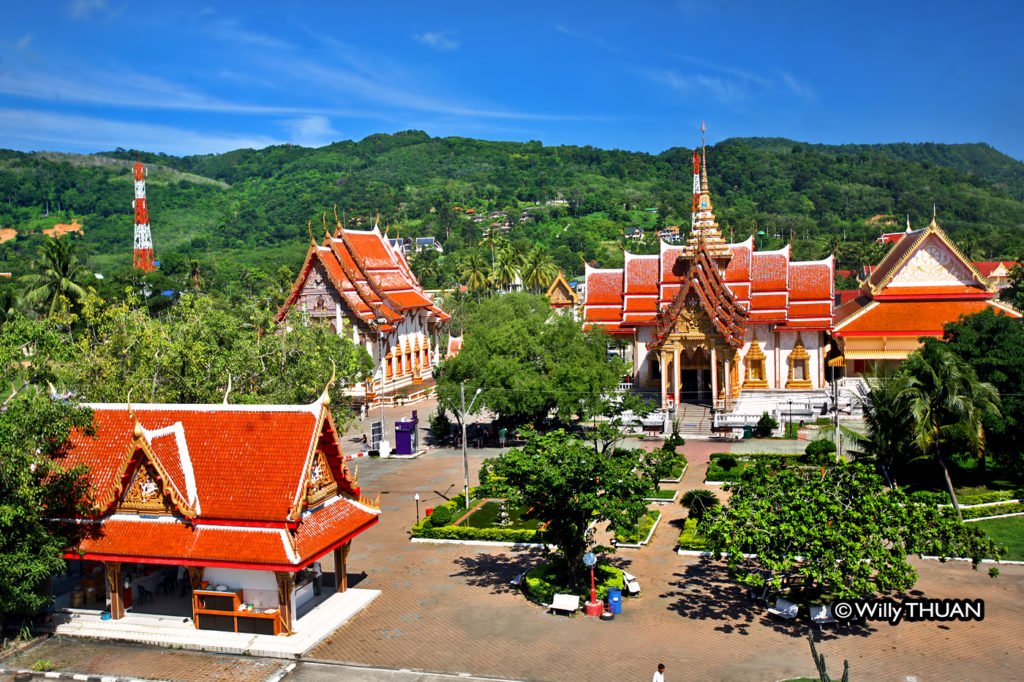 Wat Chalong Bird View