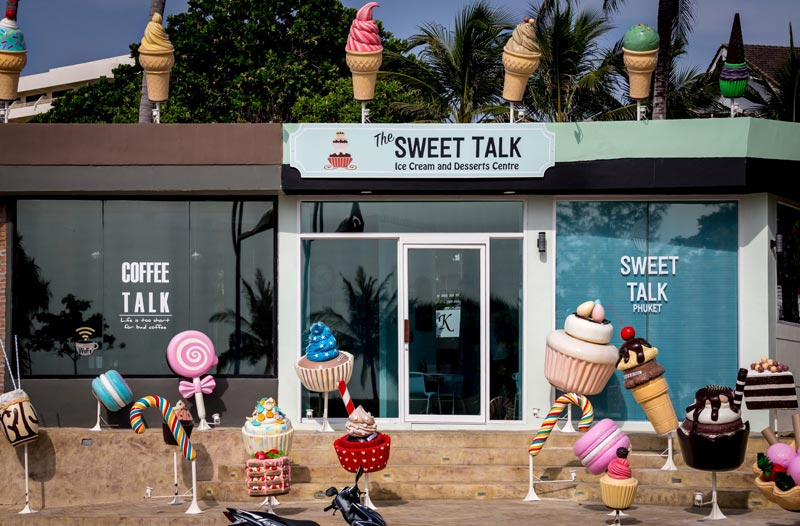 Coffee Talk Cafe, Sweet Talk Cafe, Cafe in Phuket