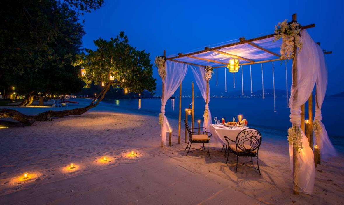 Phuket romantic restaurant