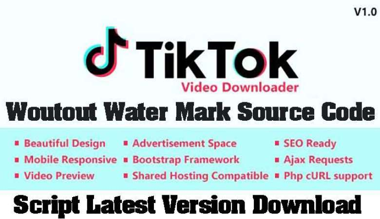 TikTok Video and Music Downloader with no Watermark 26284627 codecanyon