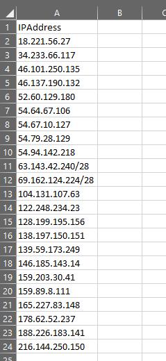 Sonicwall Script Generator – Create Multiple Address Objects