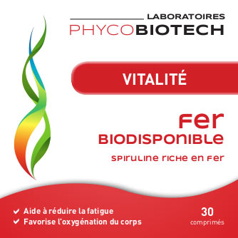 Iron-rich Vitality Food Supplements