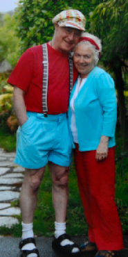 Alan and Phyllis in June 2012 when Alan healed from cancer.