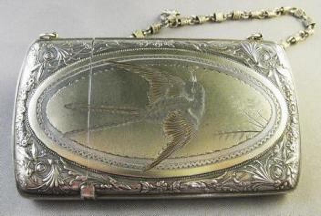 American Sterling Card Case in the Aesthetic Taste 01
