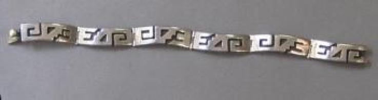Mexican Sterling bracelet 01