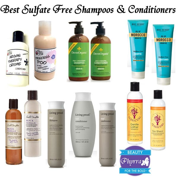 Best Sulfate Free Shampoos And Conditioners Phyrra