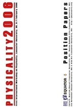 Physicality 2006 Proceedings cover