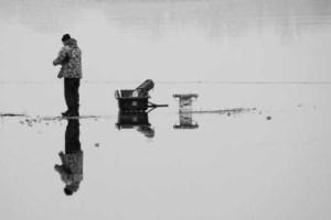Ice Fishing Thanksgiving