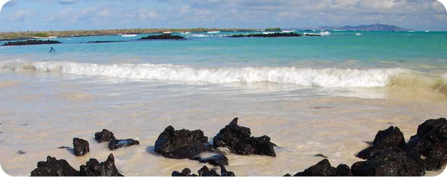 Ecuador Galapagos Beach