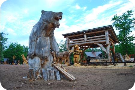 big chainsaw bear