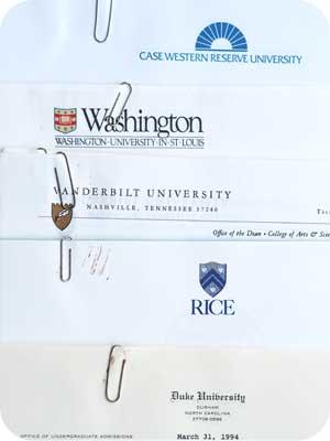 Undergrad acceptance letters