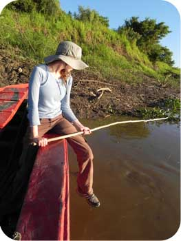 Fishing in the Bolivian Rainforest