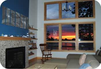 Dream House Sunset