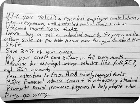 Harold Pollack's index card IPS
