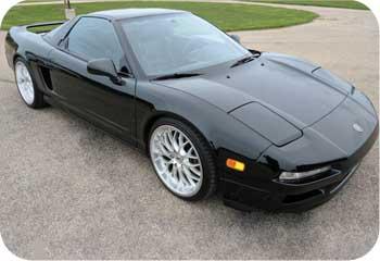 Acura NSX Black