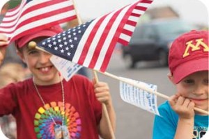 kids american flags
