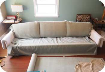 reupholster kroehler sofa