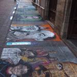 Sidewalk Chalk Murals, Guanajuato