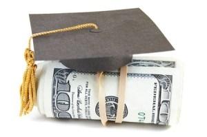 dollars Grad cap