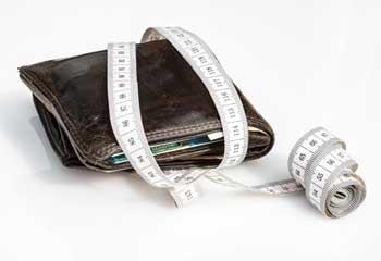 wallet tape measure