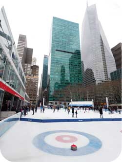 Bryant Park Curling
