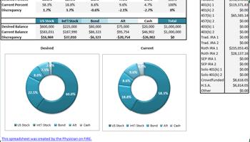 investing in a three fund portfolio across numerous accounts get