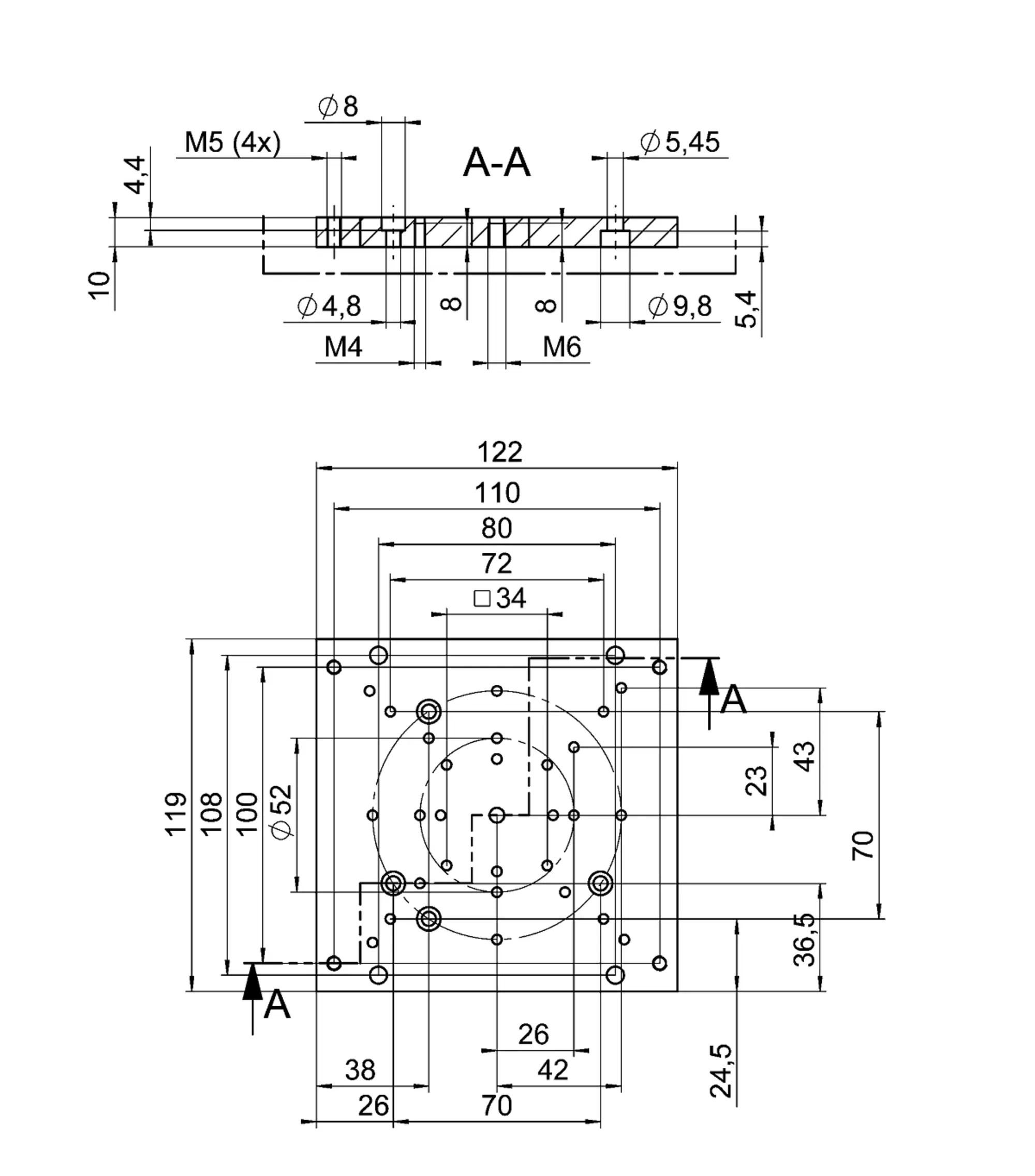M 417 Prazisions Linearversteller