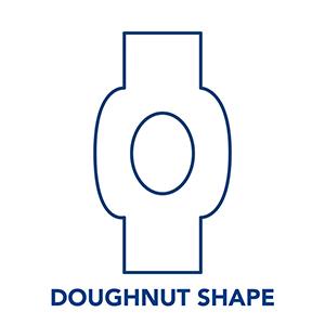Kinesiology Tape - Donut Shape