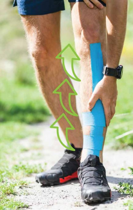 Kinesiology Tape - Application Guide Shin