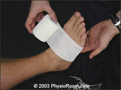 Ankle Taping - 1