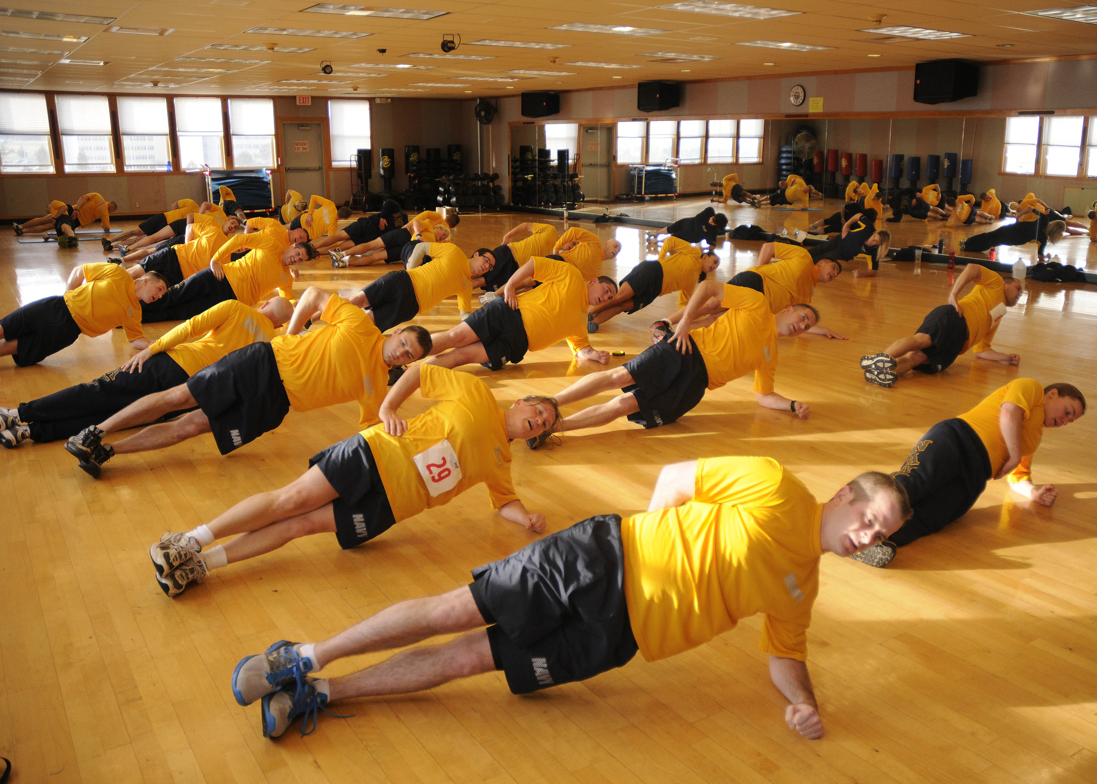 Warm Up Ideas For Exercise Class