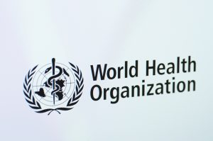 Saransk, Russia - January 28, 2016: A computer screen shows details of World Health Organization report on its web sites in Saransk, Russia, on January 28, 2016. Selective focus.