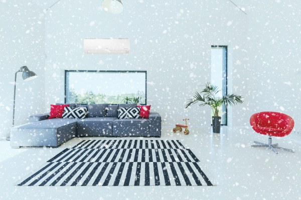 Ducted air conditioning keeps your room cool