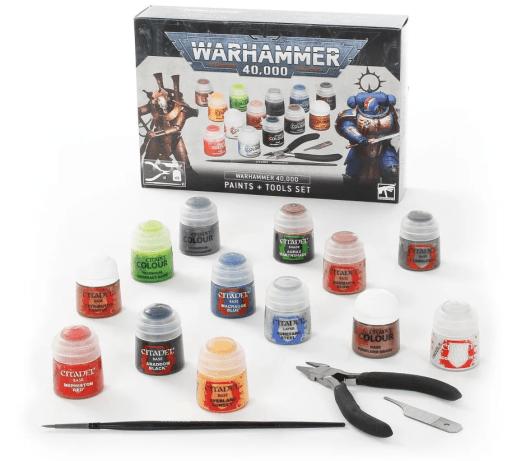 warhammer 40k hobby starter set